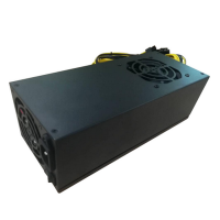 Блок Питания  R-Senda SD-2400W-BTC 16AWG for ASIC overclock mode S9 18TH, 2400W Mining PSU all cabels 16AWG, высота 8 см, Connector:,6pin *10pcs +15 cm, Inputefficiency: 92% OEM {6}